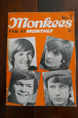 Monkees Monthly  No.1 - Original copy