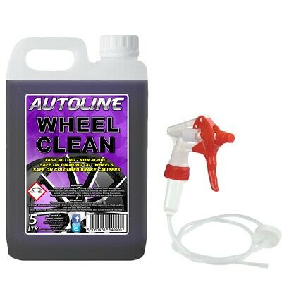 5L PREMIUM Alloy Wheel Cleaner Solution Acid Free Wheel Cleaner Safe on all Rims