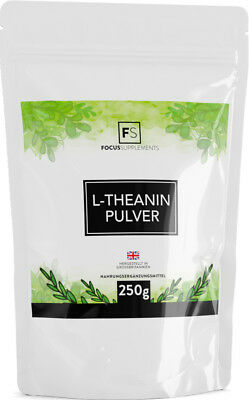 L-Theanine  |  Pure Powder  |  100g / 250g  |  Promotes Calm & Focus