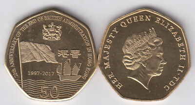 TRISTAN DA CUNHA 3x 50 Pence 2017, 3 differents, seems to be not official