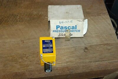 Pascal SDA40, Pressure Switch, New