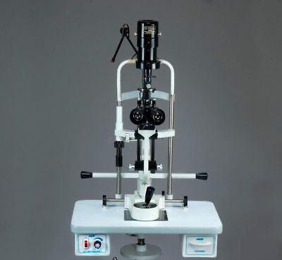 MIKO Slit Lamp Bio-microscopewith  with wheel pedestal stand