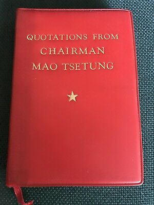 Quotations from Chairman Mao Tse Tung original book published in 1972