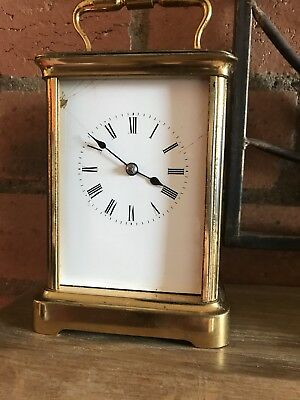 Early 1800's Bell Strike Carriage Clock By Honoré Pons With The Pons 1827 Mark