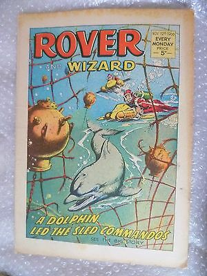 Comic- Rover and Wizard 12th November 1966