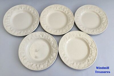 Set Of 5 Bhs/barratts 'Lincoln' Tea Plates - Fantastic Condition