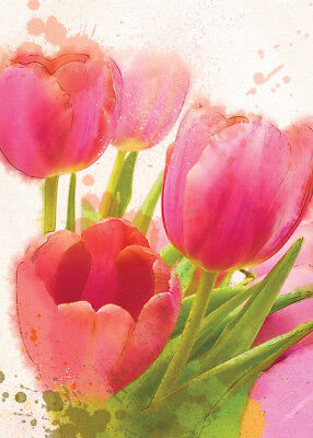 BEAUTIFUL 'FLEUR' CARDS x12 JUST 27p,stunning design-textured board-wrapped (FL1