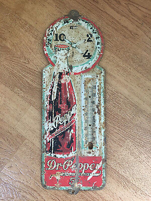 Rare Old Dr Pepper Thermometer