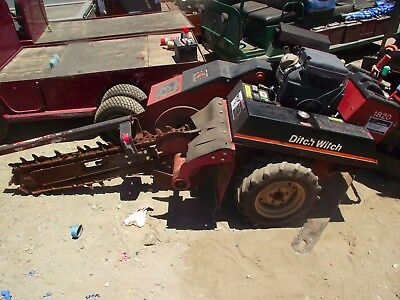 """2005 Ditch Witch 1820He Walk Behind Trencher 48"""" Bar 6"""" Wide 18Hp Honda Engine"""