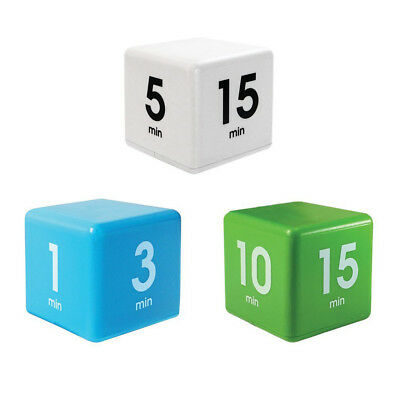 The Miracle Time Cube Timer 5/15/30/60 Minutes For Management Kitchen Kids Timer