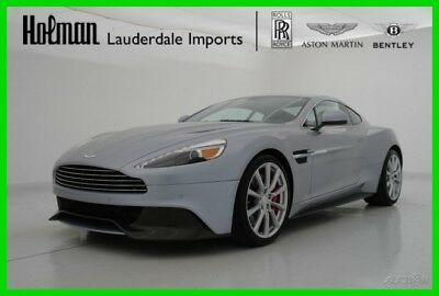Aston Martin Vanquish VANQUISH COUPE 2014 14 ASTON MARTIN VANQUISH COUPE * CERTIFIED WARRANTY * RARE COLORS * QUILTS