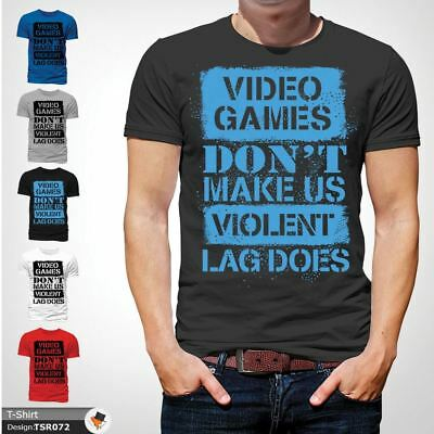 FUNNY VINTAGE GAMING T-SHIRT Retro 80s Video Games PC Gamer C64 Sizes to 4XL