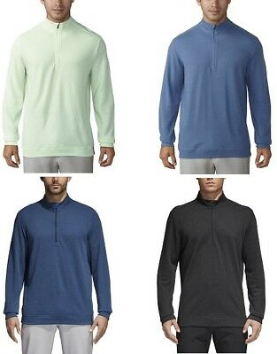 Adidas Wool 1/4 Zip Mens Golf Pullover - Pick Size & Color