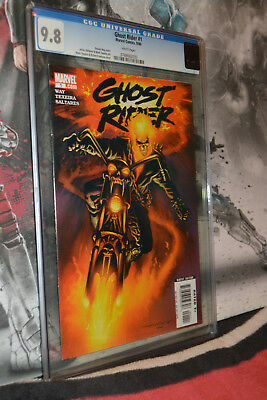 Ghost Rider #1 CGC 9.8 2006 Rare White Pages
