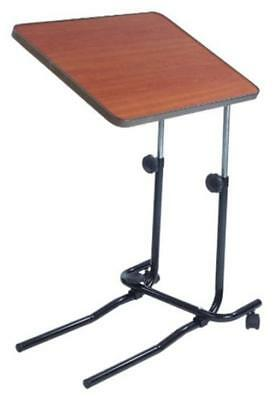 Table for Overbed and Chair Adjustable - Mealtimes Reading Writing or Laptop