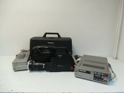 Sony HVC-4000p Trinicon Betamax Video Camera & Accessories