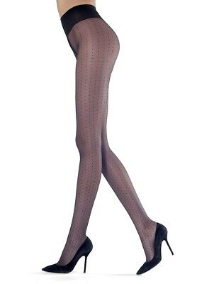 e2890ab1d Oroblu Adelle Sheer Polka Dot small Marine (blue) Tights Pantyhose New in  box