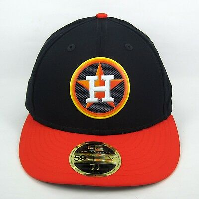 New Era Men's MLB Houston Astros Batting Practice 5950 Fitted Cap - 7 1/4