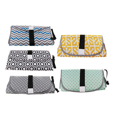 Baby Portable Clean Hands Changing Pad 3-in-1 Diaper Clutch Changing Station