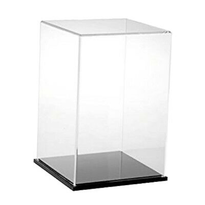 MagiDeal Clear Acrylic Toy Display Show Case Dustproof Box Crafts Ornaments