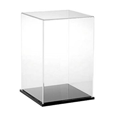 MagiDeal Clear Acrylic Toy Display Show Case Dustproof Box Large Ornament
