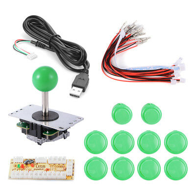 Zero Delay Arcade USB Encoder Joystick for Mame Jamma PC Fighting Games AC550