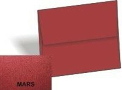 Metallic Envelopes Dark Red Mars - A9 Envelopes (5.75-x-8.75) - 25/PK