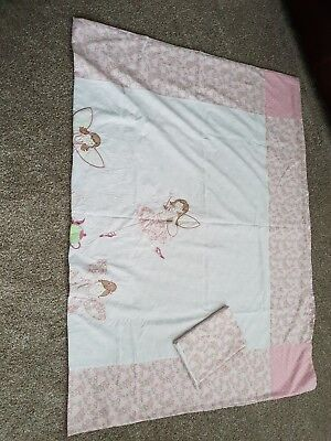 Laura Ashley Girls Single Duvet Cover And Matching Pillow Case