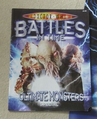 Doctor Who Battles In Time Magazine Ultimate Monsters Special in good condition