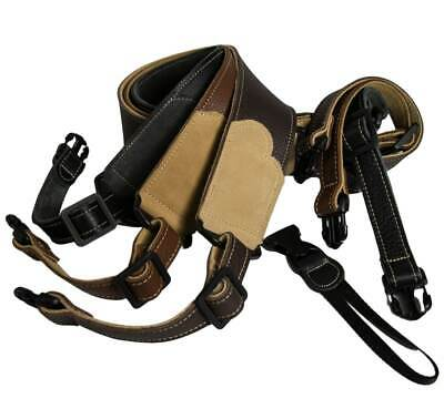 Franklin Strap - Banjo Strap - Glove Leather - Quick Release
