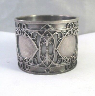 ANTIQUE Vtg BLACKINTON STERLING SILVER RENAISSANCE REVIVAL PATTERN NAPKIN RING