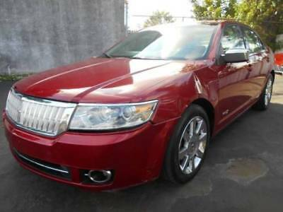 2008 Lincoln MKZ/Zephyr  2008 Lincoln MKZ/Zephyr Base 4dr Sedan Leather Sunroof Cold AC Florida Owned