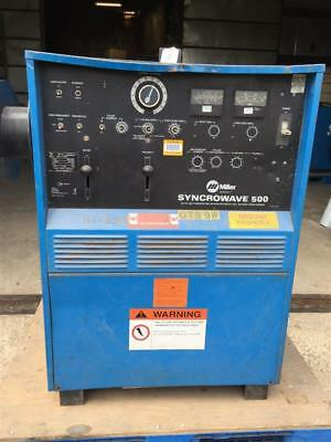 Miller AC/DC CC Tig Welder (1PH, 200/230/460v), Syncrowave 500 with Watermate 1A