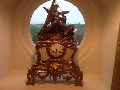 "French Mantle Clock ""Japy Freres ""circa 1878 Fully Working."