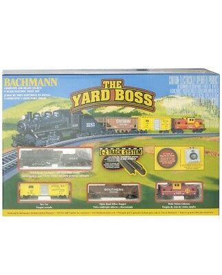 Bachmann N Scale Train Tracks Yard Boss Electric Train Set Ready to Run