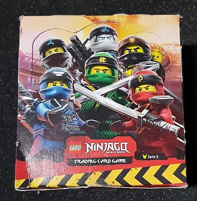 LEGO Ninjago Serie 3 Trading Cards 1 Display = 50 Booster deutsch