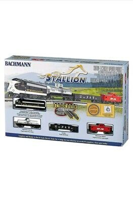 Bachmann Trains The Stallion N Scale Ready-To-Run Electric Train Set | 24025-BT