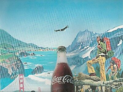 Coca Cola Calendar Dec. 1974 Thru Dec. 1975