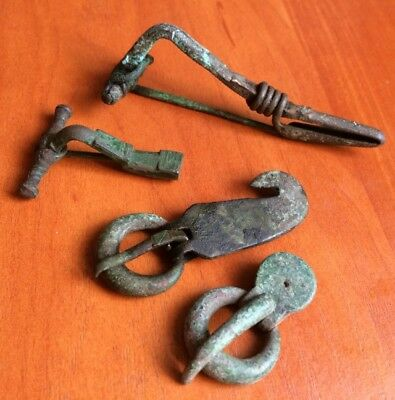 Roman Celtic Germany ancient buckles brooches collection 1-3 century AD