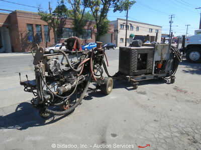 2002 Wagon Drill w/ Hydraulic Power Pack Drilling Rig Equipment - Parts/Repair