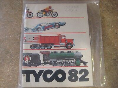 TYCO 1982 TOY catalog US-1 police semi chase lighted cars
