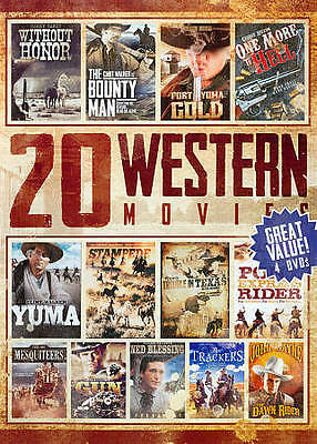 20 Western Movies Collection, Vol. 4 (DVD, 2014, 4-Disc Set)