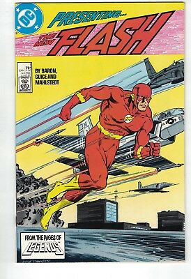 FLASH #1 (Jun 87) • Gorgeous copy • NM+ Wally Wood as Flash, part 1 of 2