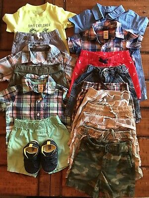 18 Month Boy Summer Lot *euc* Mostly Carter's