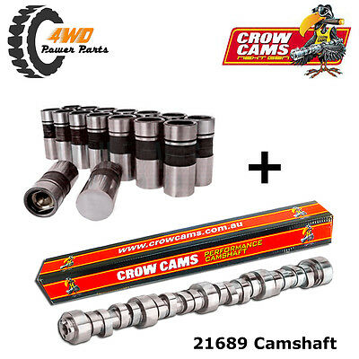 Crow Cams Ford V8 302 351 Cleveland Tough Idle Hot Rod Camshaft and Lifters Kit