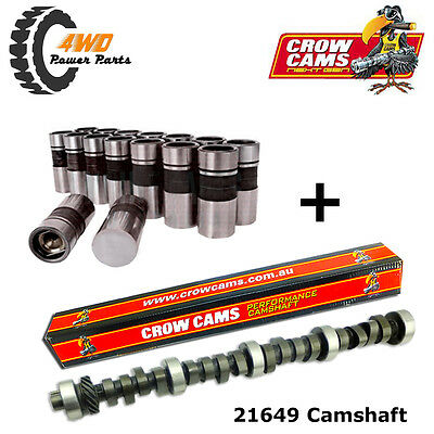 Crow Cam Ford V8 302 351 Cleveland Choppy Idle Good Mid Range Camshaft & Lifters