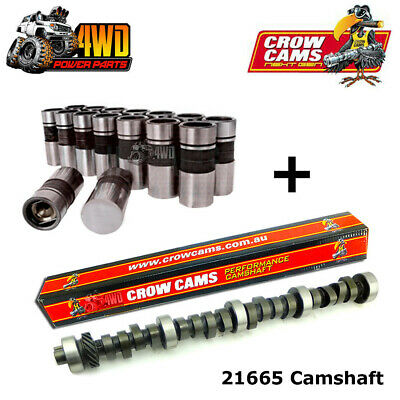 Crow Cams Ford V8 302 351 Cleveland Mild Street Medium Idle Cam & Lifters 21665