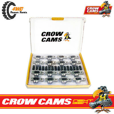 "Crow Cams Next Gen Stainless Rockers 7/16"" STUD 1.6 Ratio Ford Windsor CRFW167"