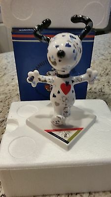 """SNOOPY PEANUTS ON PARADE WESTLAND GIFTWARE """"Love Snoopy"""" with Box"""