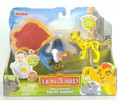 Disney Junior The Lion King Guard Pride Land Rivals - Fuli Vs. Mzingo New